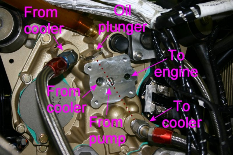 Lycoming Accessory Case Oil Schematic VAF Forums